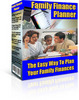 Thumbnail Family Finance Planner With Master Resell Rights