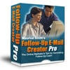 Thumbnail New Follow Up Email Creator Pro with Master Resell Rights