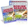 Push Button Backlink Generator