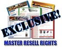 85 Exclusive Niche Content Websites with Master Resale Rights