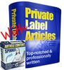 Thumbnail 50 Real Estate Articles PLR - Private Label Right and MRR