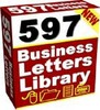 Thumbnail NEW - 597 Business Letters Library with Master Resell Rights