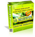 Thumbnail The 15 Minute Lead Page Creator - Master Resell Rights & PLR