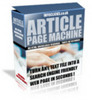 Article Page Machine with Master Resale Rights
