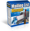 Thumbnail Mailing List Manager -manage your mailing list & newsletters