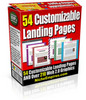 Thumbnail 54 Customizable Landing Pages