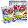 Thumbnail All New Pushbutton Backlinks Generator Software