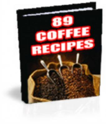 Product picture Coffee Lovers Recipes - With Master Resale RIghts