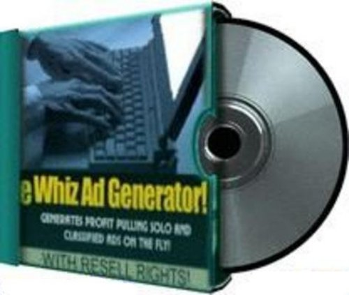 Product picture eWhiz Ad Generator with Master Resale Rights