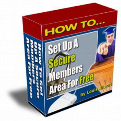Product picture New How To Set Up A Secure Members Area For Free Videos with Resell Rights