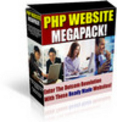 Product picture php megapack 14 website scripts with resale rights