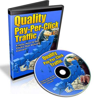 Product picture Quality Pay Per Click Traffic Video Series - Master Resell R