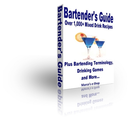 Product picture Bartenders Guide - Over 1,000 Mixed Drink & Cocktail Recipes