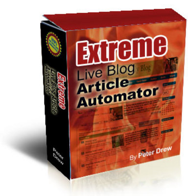 Product picture Extreme Live Blog Article Automator with Master Resale Rights