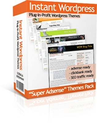 Product picture Super Adsense WordPress Themes Pack - 30 Instant WordPress Themes with Master Resale Rights