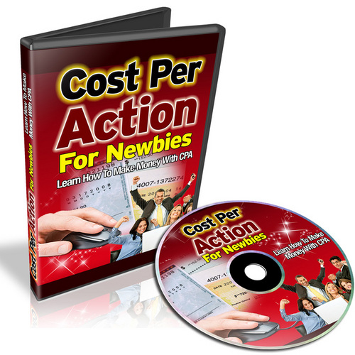 Product picture CPA Cost Per Action For Newbies with Master Resale Rights