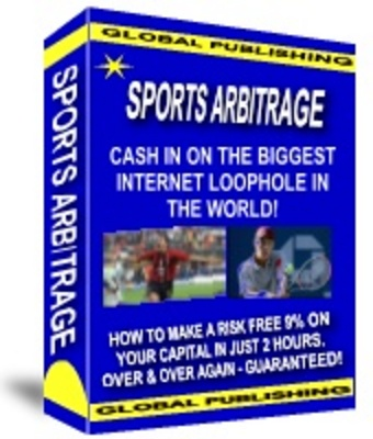 Product picture Sports Arbitrage - Risk Free Money Betting on Sports w MRR
