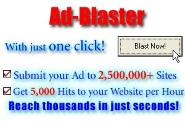 Product picture Ad Blaster v2.0 - Automatic Ad Submission Software