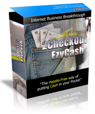 Product picture 2CheckOut EzyCash with Master Resell Rights