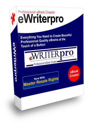 Product picture eWriter Pro with Master Resell Rights - Professional Ebook C