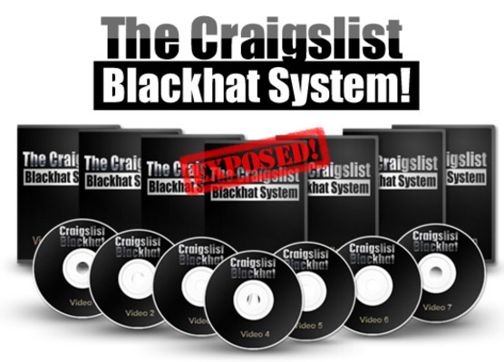 Product picture The Craigslist Blackhat System with Master Resale Rights
