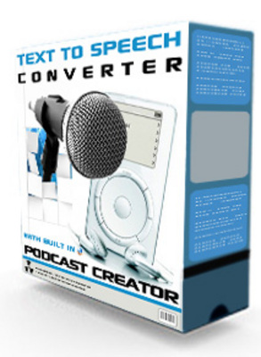 Product picture Podcast creator & Text to Speech - Text to Audio Converter MRR