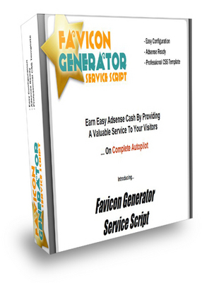 Product picture Favicon Generator Service Script - Master Resale Rights