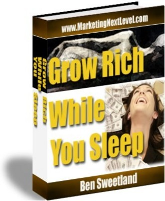 Product picture Grow Rich While You Sleep - how to attract wealth