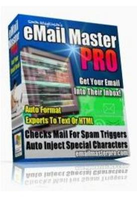 Product picture Email Master Pro with Master Resale Rights