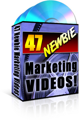 Product picture 47 Newbie Marketing Videos MRR