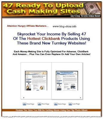 Product picture 47 Ready Made Clickbank Websites - Adsense Optimized