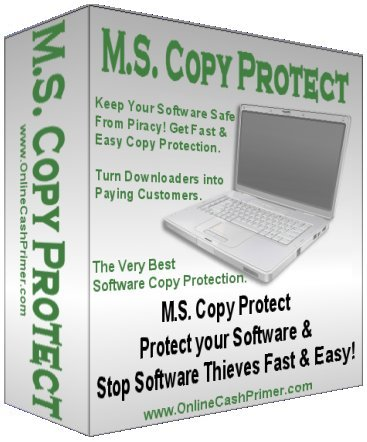 Product picture M.S. Copy Protect - Software Copy Protection
