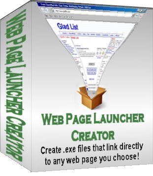 Product picture New! Web Page Launcher Creator - EXE Files To Open Web Pages